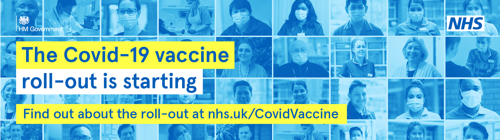The covid 19 vaccination roll out is starting